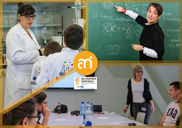 Agents of Change Shortlist - Prof. Dr Barbara Rothen-Rutishauser, Prof. Alke Fink and Dr Sofía Martín Caba (Professional role confidence of female scientists)