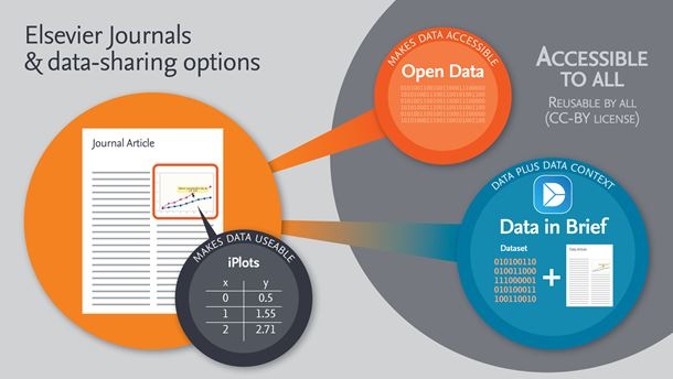 The different data-sharing options