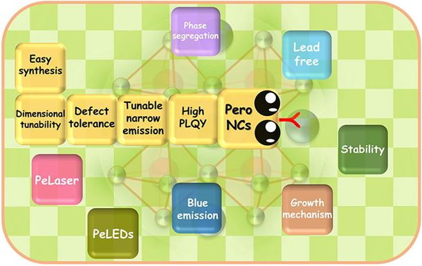 Advances in metal halide perovskite nanocrystals: Synthetic strategies, growth mechanisms, and optoelectronic applications